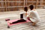 Cours de yoga à domicile au Cap Ferret