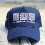 Casquette bleue de la marque Des Hommes et des Mers
