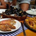 Poisson grillé de Chez Hortense au Cap Ferret
