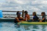 Leçon de natation au Club Baloo au Cap Ferret