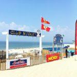 Le Club Mickey de la plage centrale du Cap Ferret