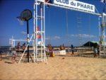 Jeux de plage au Claub Mickey du Phare à Lège Cap Ferret