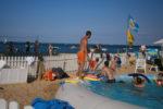Piscine et jeux de plage au Club de la Vigne sur la presqu'ile de Lège-Cap Ferret