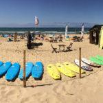 École de Surf du Grand Crohot sur la plage