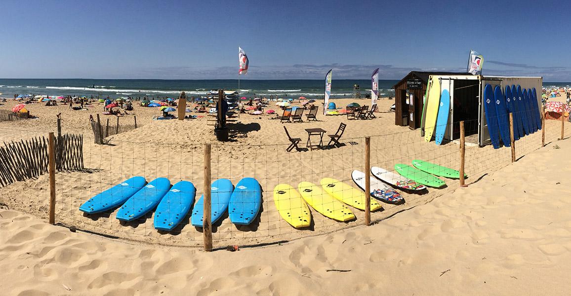 École de Surf du Grand Crohot