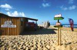 Cabane de l'école de surf ESCF