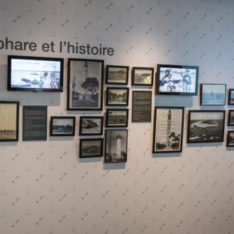 Exposition histoire du phare du Cap Ferret