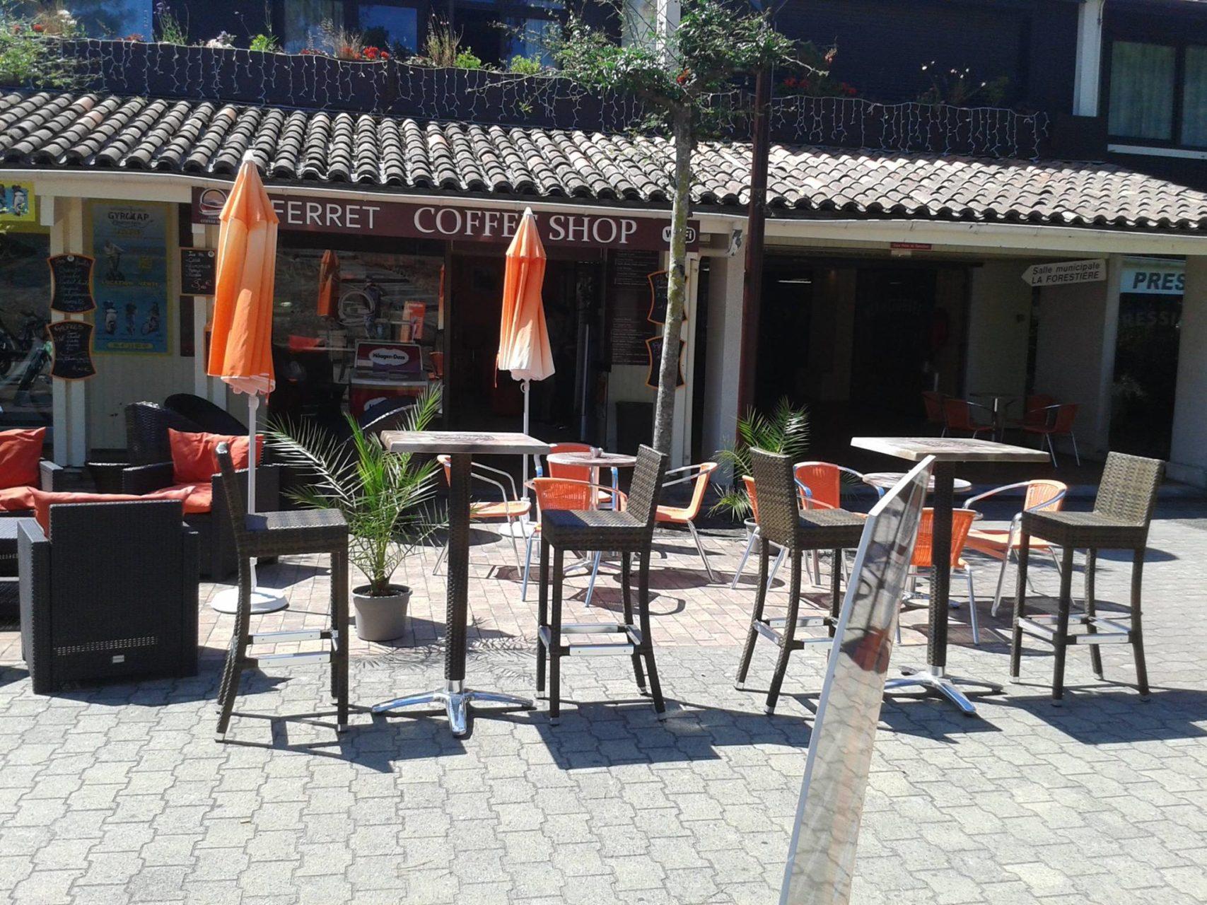 Ferret Coffee Shop au Cap Ferret