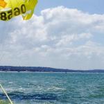 Parachute ascensionnel au Cap Ferret