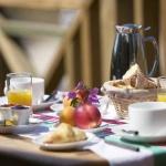 Petit dejeuner à l'hôtel des Dunes au Cap Ferret