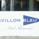 Logo de l'hotel le Pavillon Bleu au Cap Ferret