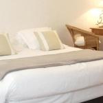 Chambre de l'hotel le Pavillon Bleu au Cap Ferret