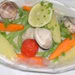 Plat de fruits de mer au Pavillon Bleu Cap ferret
