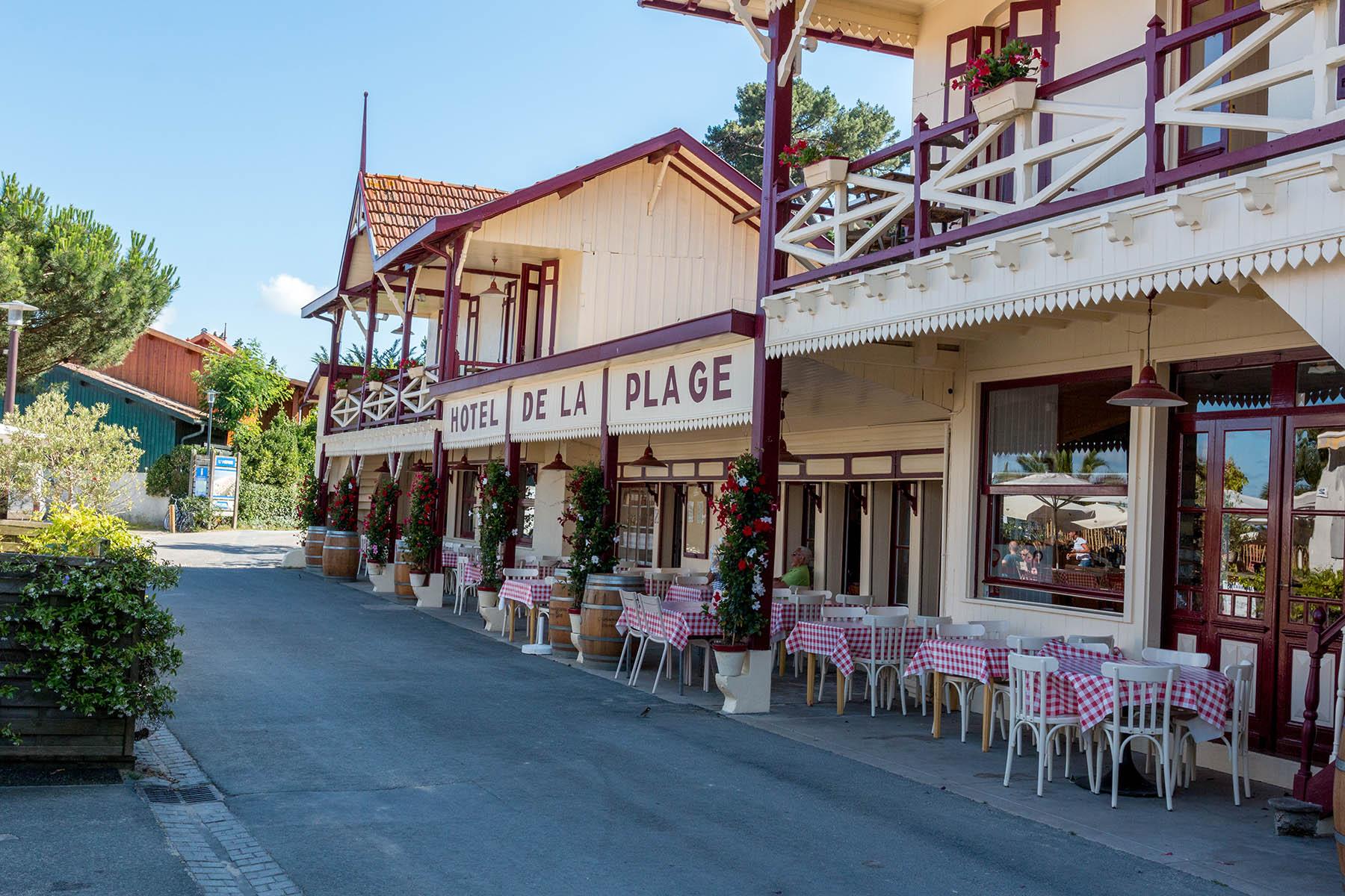 Village de l'Herbe au Cap Ferret