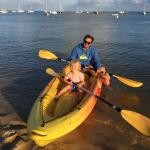 Balade en canoé à la Cabane à Gliss au Cap Ferret