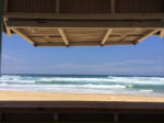 La Paillote au Cap Ferret : sandwich avec vue sur les vagues