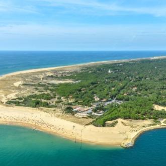 Pointe de la presqu'ile du Cap Ferret