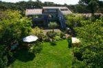 Vue aerienne sur le Lodge Cap Ferret location d'appartements de vacances