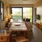 Salon de la Maison d'Elise, villa et chambre d'hôtes aux Jacquets Cap Ferret