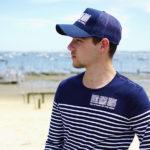 Marinière et casquette pour homme de la marque Des Hommes et des Mers