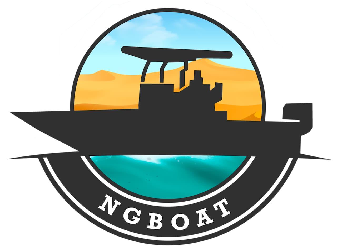 Logo NG Boat au Cap Ferret