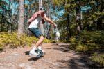 Balade en forêt au Cap Ferret avec Onewheel