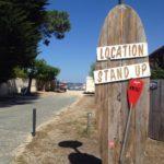 Location de stand up au Cap Ferret