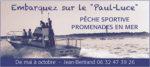 Pêche sportive au Cap Ferret avec le Paul Luce