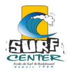 Logo de Surf Center, école de surf au Cap Ferret