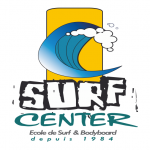Logo de Surf Center, école de surf au Cap Ferret