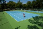 Club de tennis au Cap Ferret