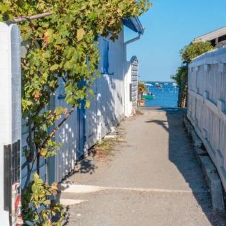 Quartier ostréicole du Canon au Cap Ferret