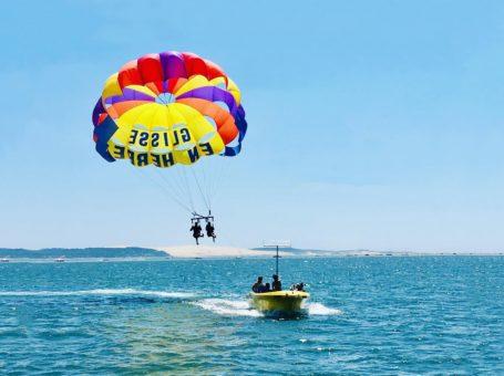 Glisse en Herbe – Parachute Ascensionnel