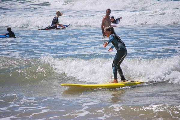 L'Andade école de surf plage du Grand Crohot au Cap Ferret