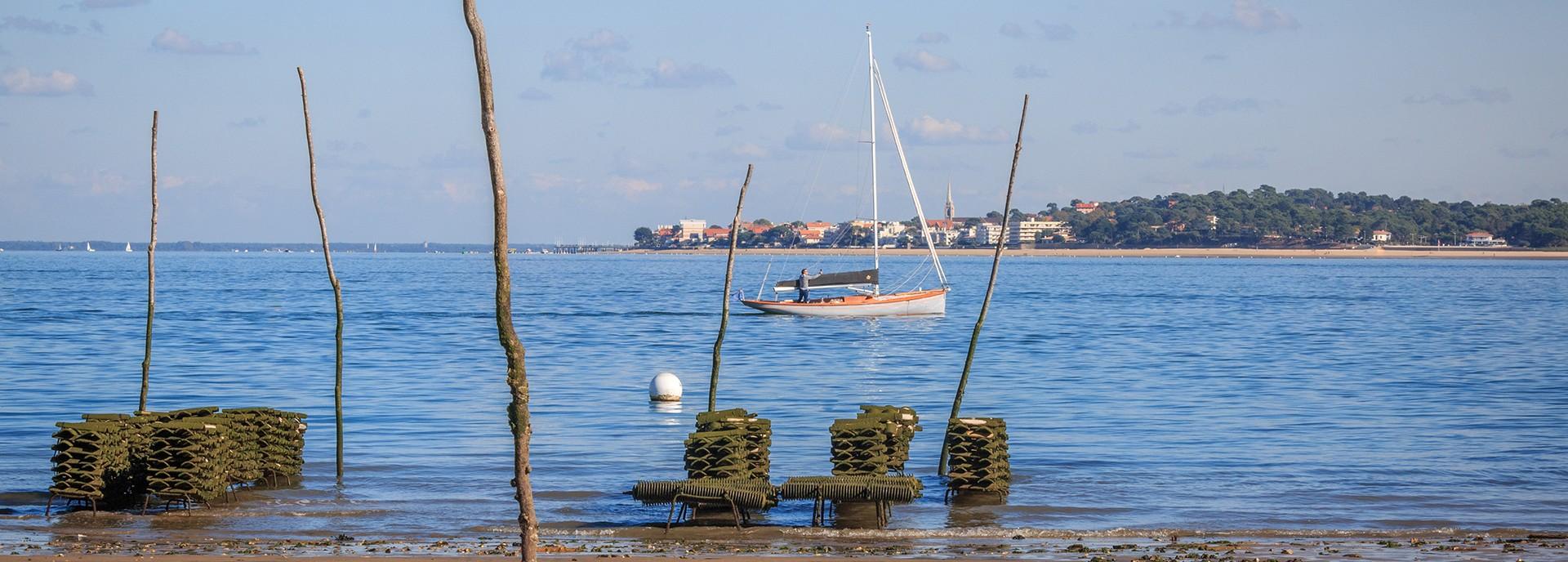 Balade en voilier à Lège Cap Ferret