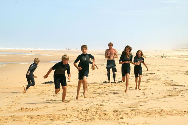 Nomade Surf School plage du Sail Fish au Cap Ferret