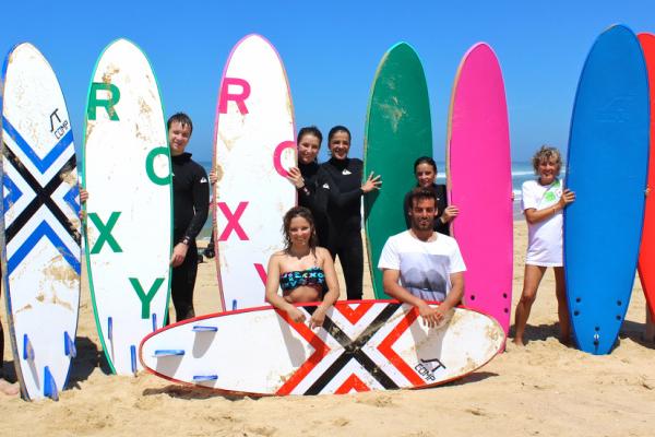 Remi's Surf School école de surf plage du Truc Vert au Cap Ferret