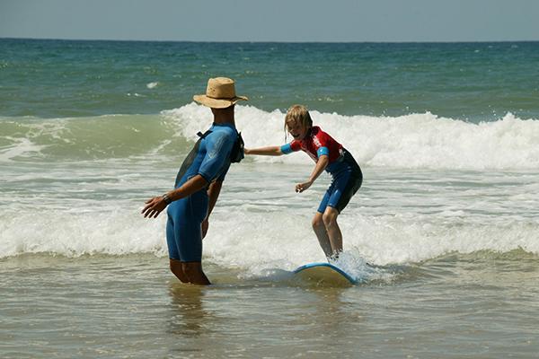 Sea Salt école de surf plage de la Garonne au Cap Ferret