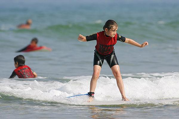 Tutti Fruti Surfschool plage de l'Horizon au Cap Ferret