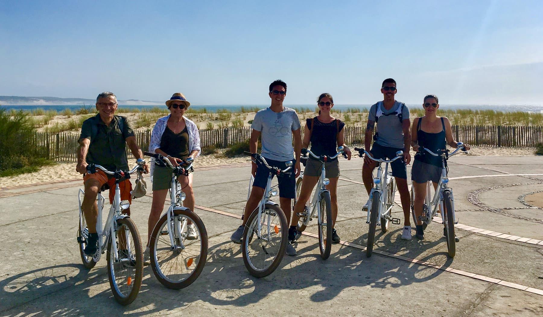 Balade guidée à vélo du Cap Ferret et la Pointe